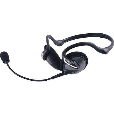 Jasco 98971 Portable Headset with Detachable Mic in BlackSilver