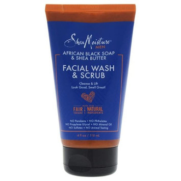 SheaMoisture African Black Soap & Shea Butter Facial Wash & Scrub