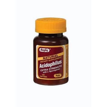 Rugby Laboratories Acidophilus Caplets With Citrus Pectin - 100 Ea
