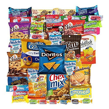 Cookies Chips & Candies Snacks Variety Pack Bulk Sampler Assortment