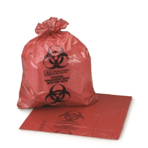 "Infectious Waste Bag Medi-Pak - Item Number 03-4545CS - 40"" x 55"" - 150 Each / Case"