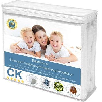 Premium Waterproof Hypoallergenic Mattress Protector by Bare Home