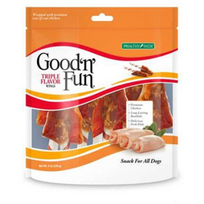 Good-n-fun Good n Fun Pork, Beef, and Chicken Wings, 8 oz