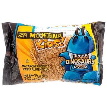 La Moderna 297555 7 oz Kids Dinosaur Shape Pasta Pack of 20