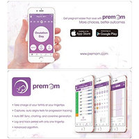 Easy@Home 2 Pregnancy Test Sticks in Bulk - hCG Midstream Tests, Powered by Premom Ovulation Predictor iOS and Android App