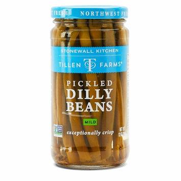 Tillen Farms Mild Dilly Beans, 12 oz (Pack of 6)