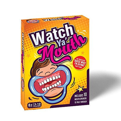 Watch Ya Mouth Watch Ya' Mouth Family Edition, the Authentic, Hilarious, Mouth Guard Party Game