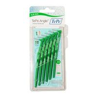 TePe Angle Interdental Brush - 0.8mm Green (6 brushes per pack)