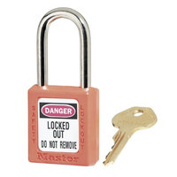 Master Lock ML410ORG Keyed Different Padlock, Orange