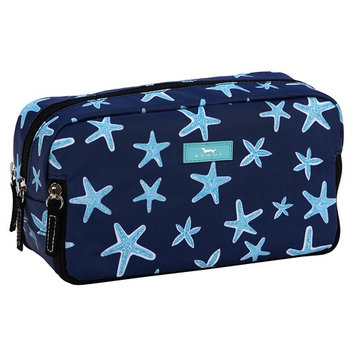 SCOUT 3-Way Bag, Toiletry & Cosmetic Multi Compartment Travel Organizer, 3 Zipper Compartments, Water Resistant, Fish Upon a Star