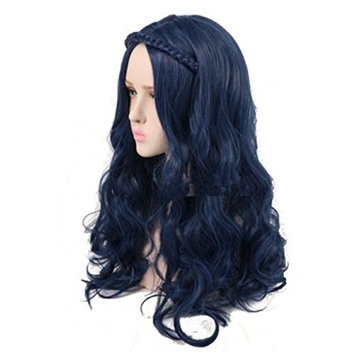 DAYISS Women's Long Curly Wig Body Wavy Stage Cosplay Party Heat Resistant Healthy Hair Replacement