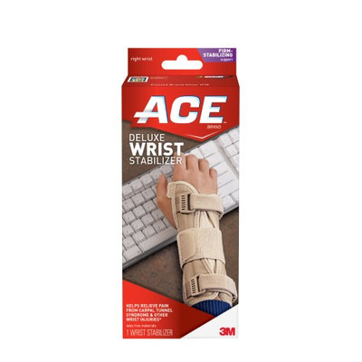 Ace 207278 Deluxe Wrist Stabilizer - Hand- Right Hand, Size- Small