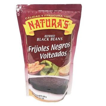 Natura's Black Beans 14.2 oz - Frijol Negro (Pack of 6)