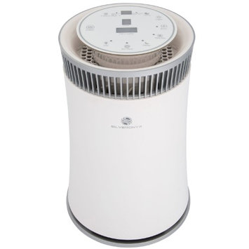 SilverOnyx Air Purifier with True HEPA Filter - White