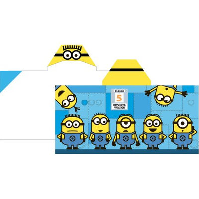 Despicable Me Minions Hooded Beach Towel