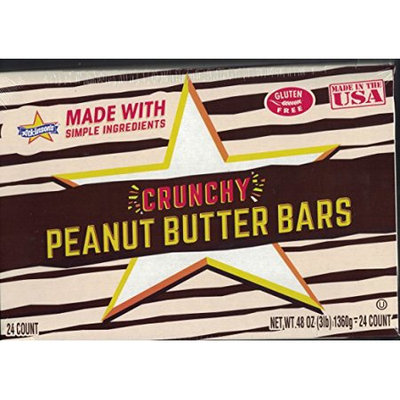 Nassau 35736 24 Count Peanut Butter Bar 2oz Pack of 12 Pack of 12 - 24 Count