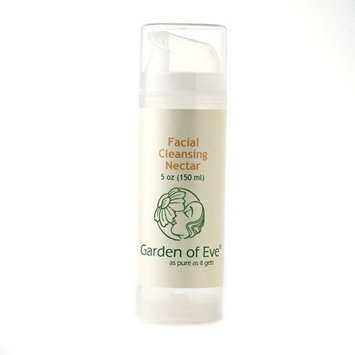 Garden of Eve Facial Cleansing Nectar - No Scent (Unscented, Fragrance Free, Certified Organic Ingredients,(No synthetic ingredients, No synthetic preservatives) Anti-aging /Sensitive /Dry) - 5 oz.