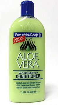 Fruit of the Earth Aloe Vera Nature Inspired Conditioner 11.5 oz