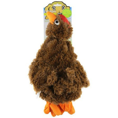 Doggles TYPBCH-35 Plush Bottle Chicken - Brown