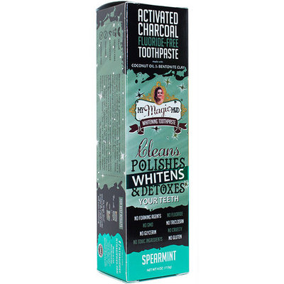 My Magic Mud Activated Charcoal Whitening Toothpaste Spearmint