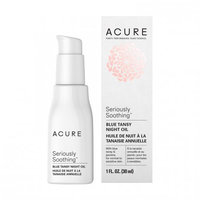 Seriously Soothing Blue Tansy Night Oil Acure Organics 1 fl oz Cream