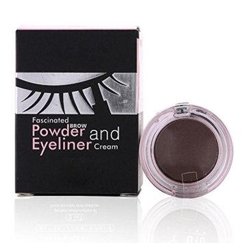 Lookatool Waterproof Eyebrow Powder Eyeliner Gel Set With Definer Brush