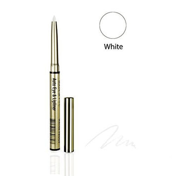 One & Only Cosmetics Waterproof Auto Eye & Lip Liner Pencils (White) by One & Only Cosmetics