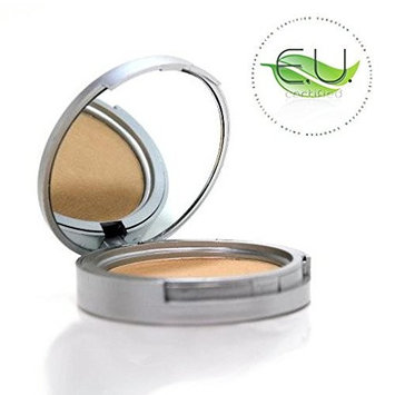 Lauren Brooke Cosmetiques Pressed Foundation, Natural and Organic Makeup (Cool No. 20)