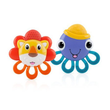 Luv N Care Vibe-eezTM Vibrating Teether - Octopus