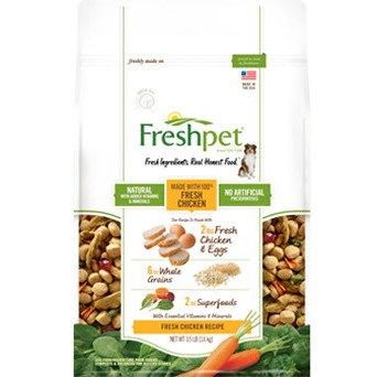 Unlisted No Company Info Freshpet Fresh Chicken Dog Food Recipe
