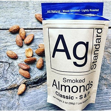 Wood Smoked Classic - Salt and Pepper - Almonds - by AgStandard - ( 6 pack of 4 oz bags)