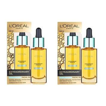 L'Oreal Paris Nutri Gold Extraordinary Facial Oil for Dry Skin, 1 Oz (Pack of 2)