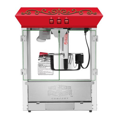 Great Northern Popcorn Company Great Northern 10 oz Perfect Popper Countertop Style Popcorn Machine Red
