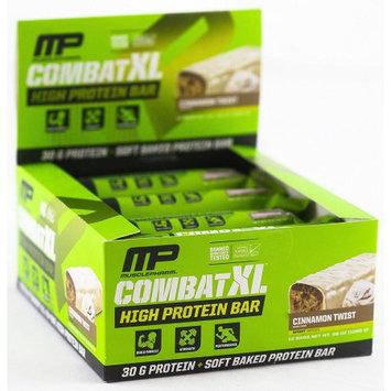 MusclePharm Combat XL, Cinnamon Twist, 12 Bars