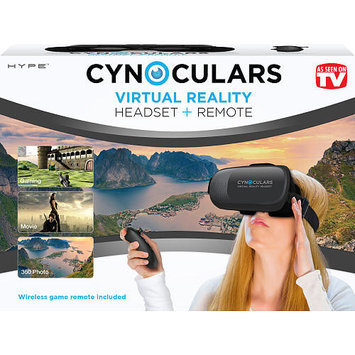 Cynoculars Virtual Reality Headset - Black