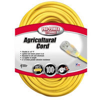 Coleman Cable 01659 Outdoor Extension Cord - 100 feet
