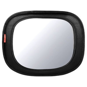 Skip Hop Style Driven Backseat Mirror, Tonal Chevron