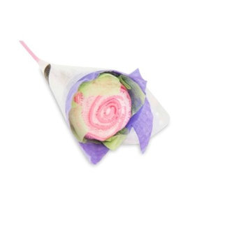 Couture Towel CT-HGSR001502 8.5 x 8.5 in. Single Rose Towel Pink Daisy