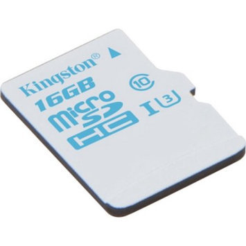 Kingston SDCAC/16GBSP 16GB microSDHC UHS-I U3 Action Card Single Pack w/o Adapter