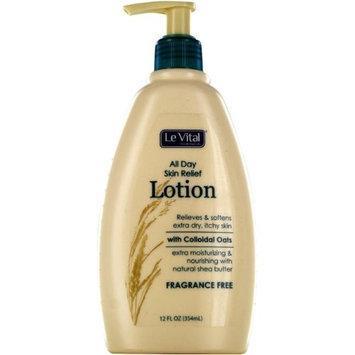 Le Vital 2122782 All Day Skin Relief Lotion with Colloidal Oats - Case of 12