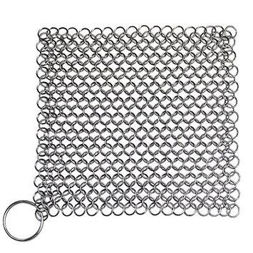 IOTC IR808 IR 80815 Chain Mail Scrubber, 15, Silver