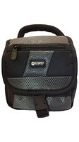 Synergy Digital Panasonic HDC-SD800 Camcorder Case Camcorder and Digital Camera Case - Carry Handle & Adjustable Shoulder Strap - Black / Grey - Replacement by Synergy