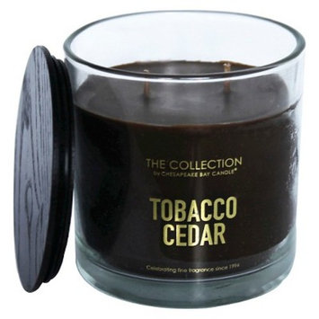 Glass Jar 2-Wick Candle Tobacco Cedar - The Collection By Chesapeake Bay Candle