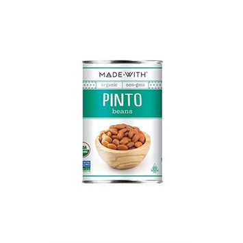Made With Organic Pinto Beans, 15 Oz