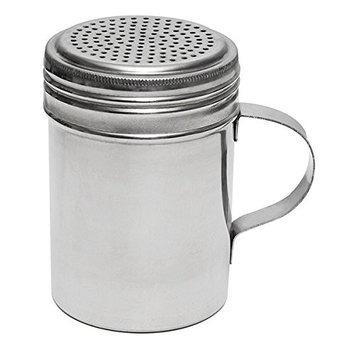 Libertyware 4-Inch Stainless Steel Flour and Spice Shaker With Handle