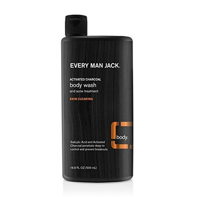 Every Man Jack Body Wash, Cedarwood, 33.8 Fluid Ounce