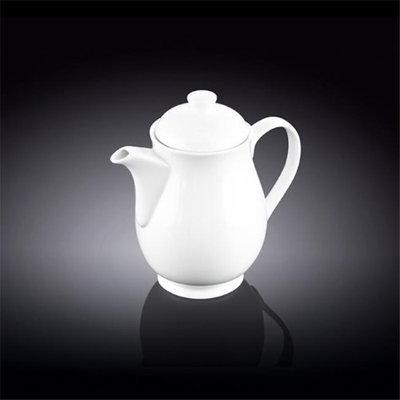 Wilmax 994027 450 ml Tea Pot White - Pack of 36