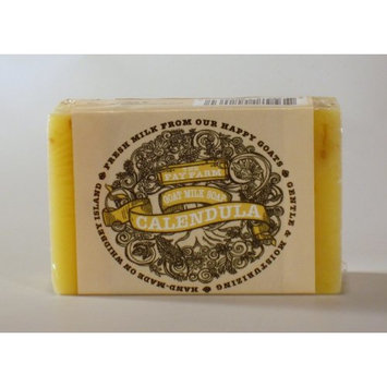 The Fay Farm's Organic Calendula Goat Milk Bar Soap - 4 Oz.