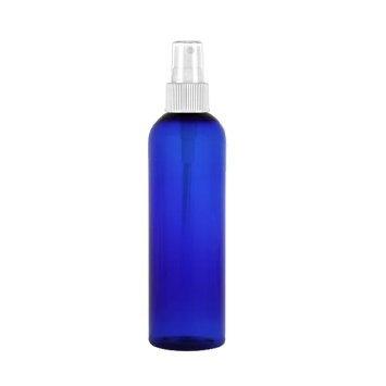 Burmax Fine Mist Spray bottle Blue Clear 3.4 oz
