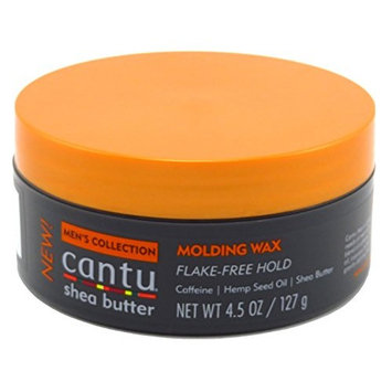 Cantu Mens Molding Wax 4.5 Ounce Jar (133ml) (3 Pack)